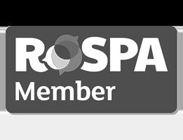 RoSPA Logo B&W